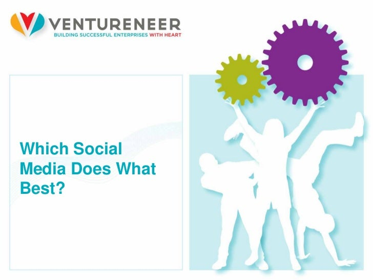 Which SocialMedia Does WhatBest?19