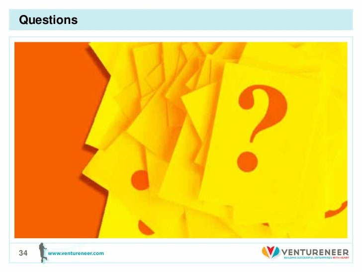 Questions• First Bullet   – Second level       • Third level          – Fourth level             » Fifth level34