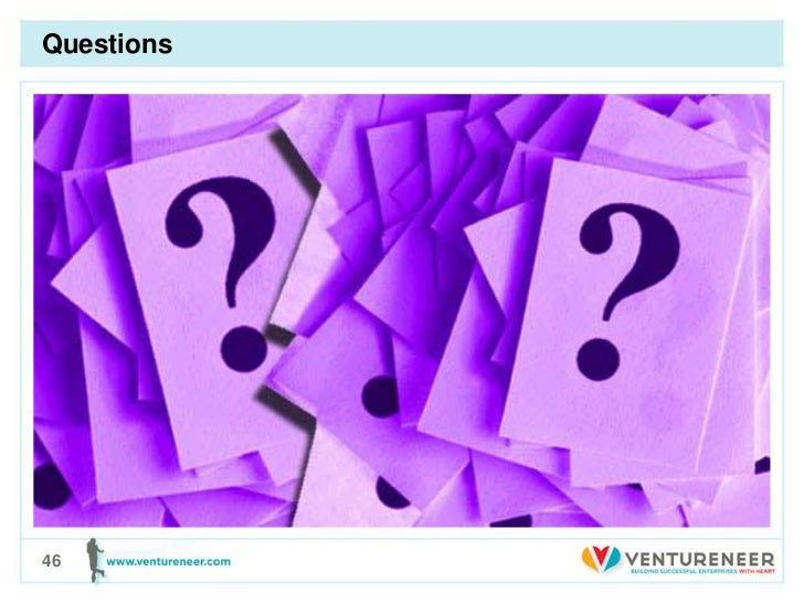 Questions• First Bullet   – Second level       • Third level          – Fourth level             » Fifth level46