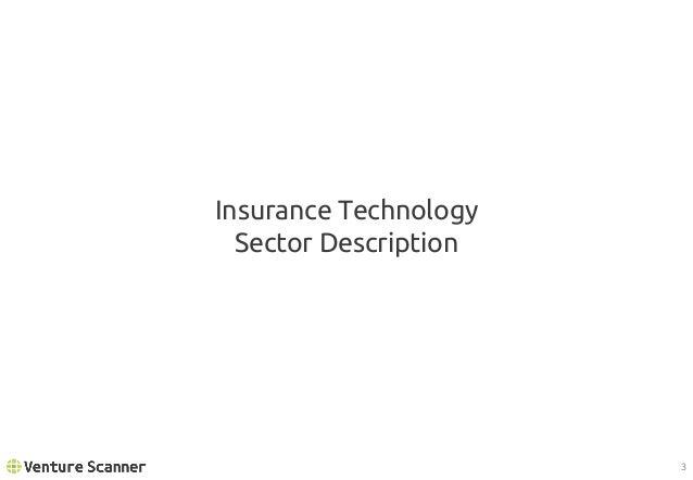 Venture Scanner Insurtech Report Q1 2017 Slide 3