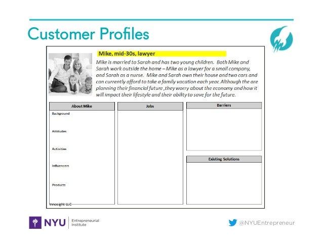 @NYUEntrepreneur Customer Profiles Innosight  LLC