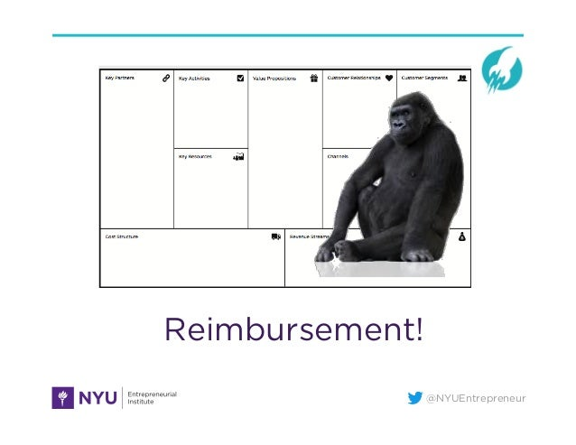 @NYUEntrepreneur Reimbursement!