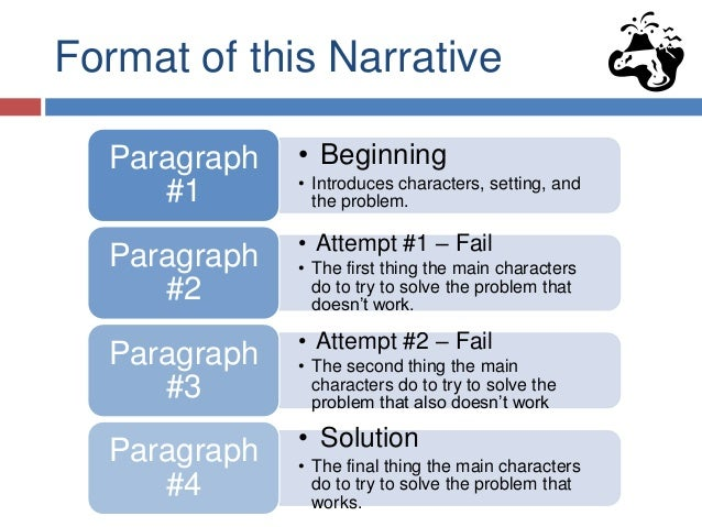 narrative paragraph