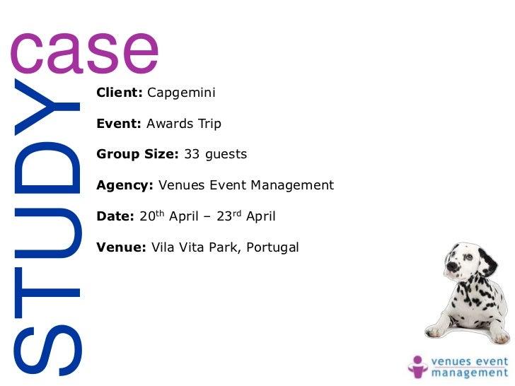 caseSTUDY    Client: Capgemini    Event: Awards Trip    Group Size: 33 guests    Agency: Venues Event Management    Date: ...