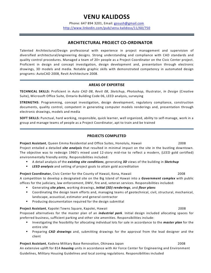 Resume for construction estimator