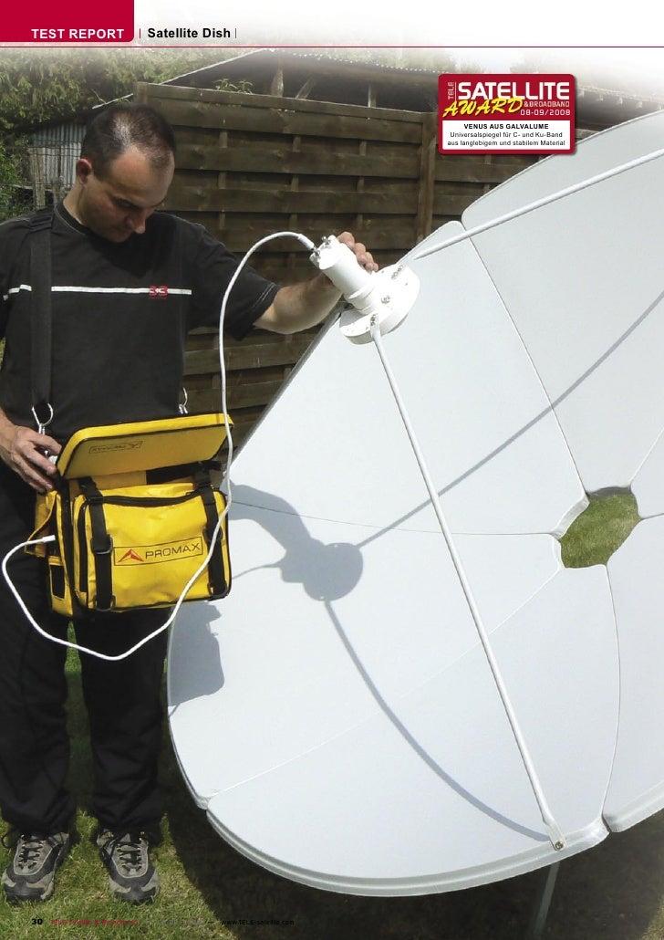 TEST REPORT                  Satellite Dish                                                                               ...