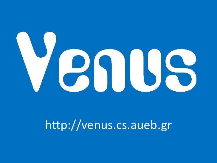 http://venus.cs.aueb.gr<br />