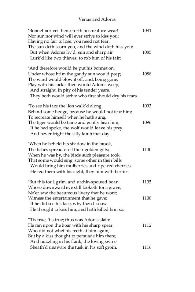 an analysis of lessons learned in the william shakespeares poems Poetry lesson plans  reinforce student understanding of parts of speech through the analysis of sample cinquain poems followed by the creation of original.