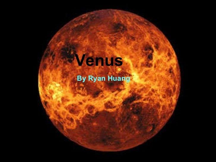Venus  By Ryan Huang