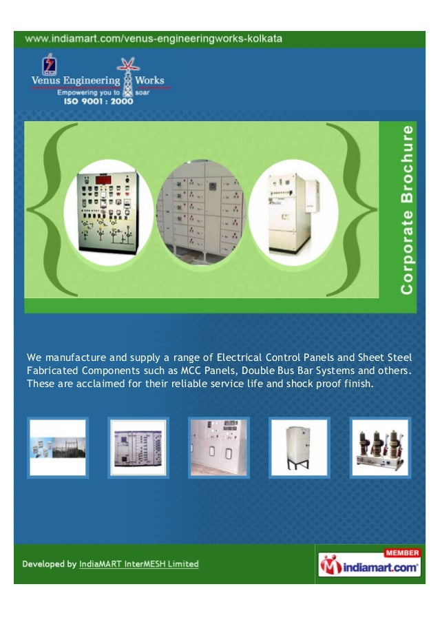We manufacture and supply a range of Electrical Control Panels and Sheet SteelFabricated Components such as MCC Panels, Do...