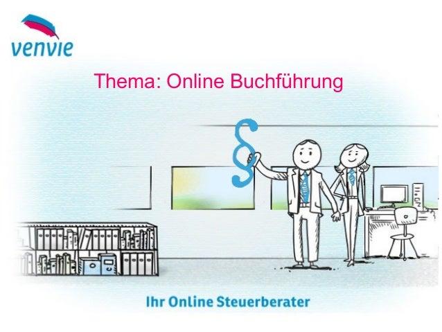 Thema: Online Buchführung