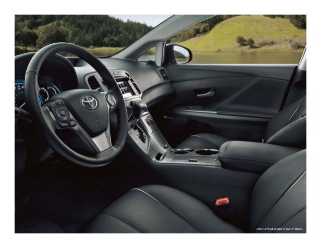 2014 Limited Interior Shown In Black.