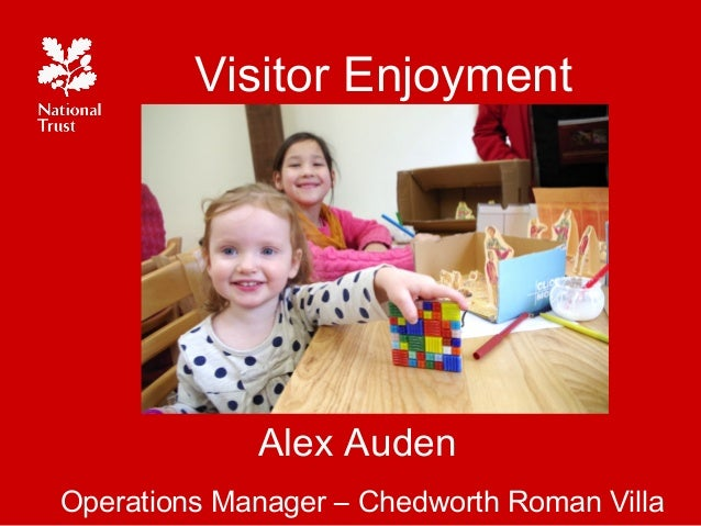 Visitor EnjoymentAlex AudenOperations Manager – Chedworth Roman Villa