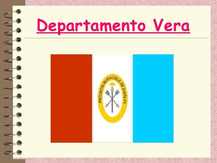 Departamento Vera