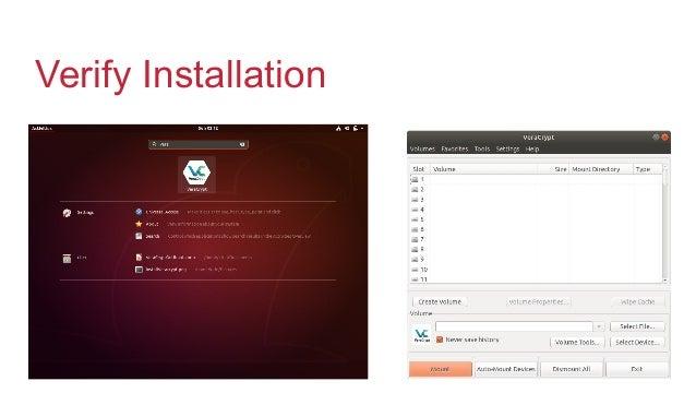 Veracrypt on Ubuntu
