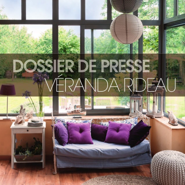veranda rideau dossier de presse 2015. Black Bedroom Furniture Sets. Home Design Ideas