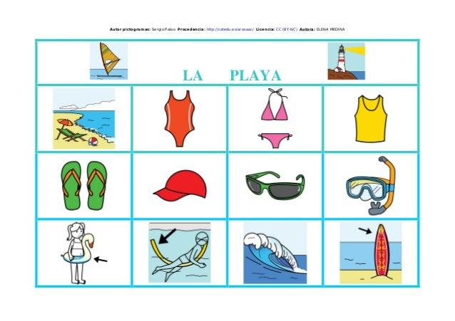 Autor pictogramas: Sergio Palao Procedencia: http://catedu.es/arasaac/ Licencia: CC (BY-NC) Autora: ELENA MEDINA LA PLAYA
