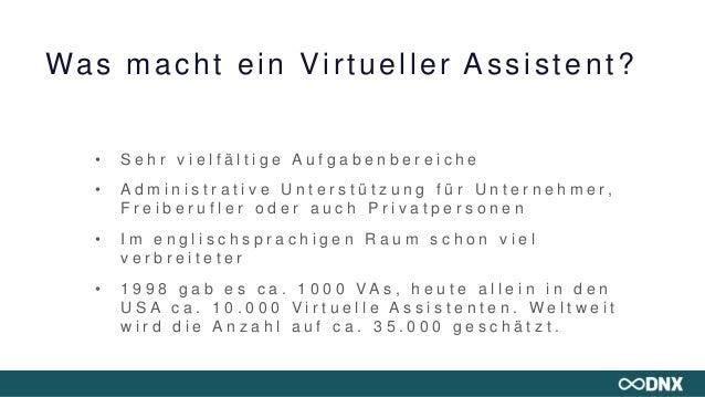 DNX Workshop ★ Wie du als Virtueller Assistent ins Digitale Nomadenleben startest - Vera Ruttkowski & Tanja Baumann Slide 3