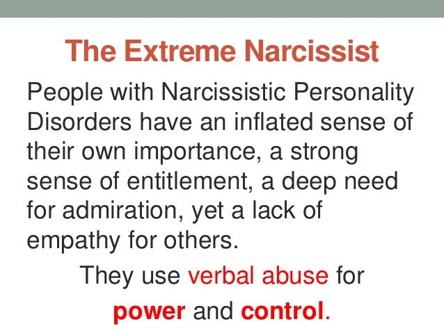 Verbal Abuse and the Narcissist: Communication Tactics Designed to Ma…