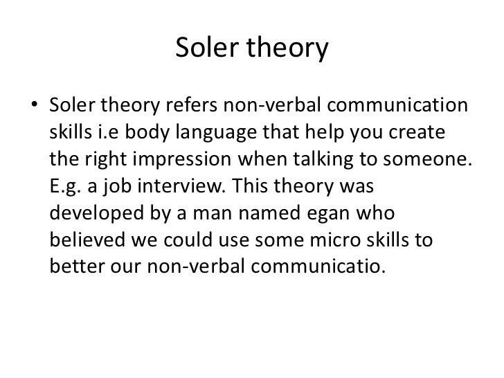 soler communication skills