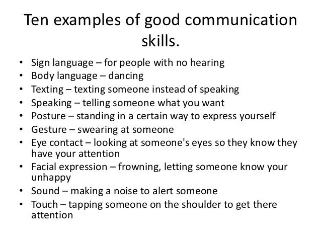 Essays on good communication skills