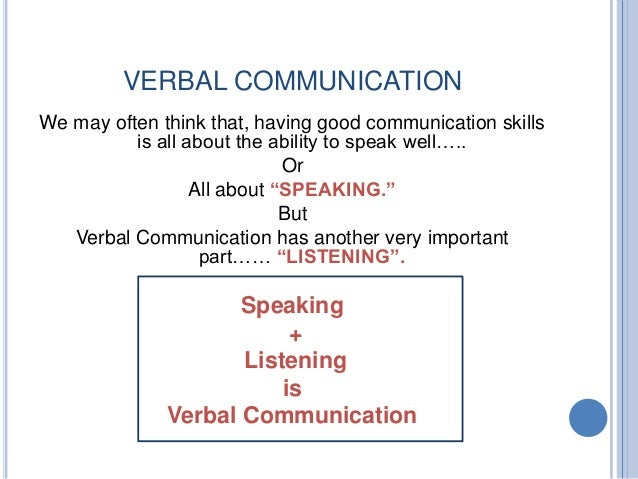 term paper on nonverbal communication Definition of verbal communication: the sharing of information between individuals by using speech  term of the day articles subjects verbal communication.