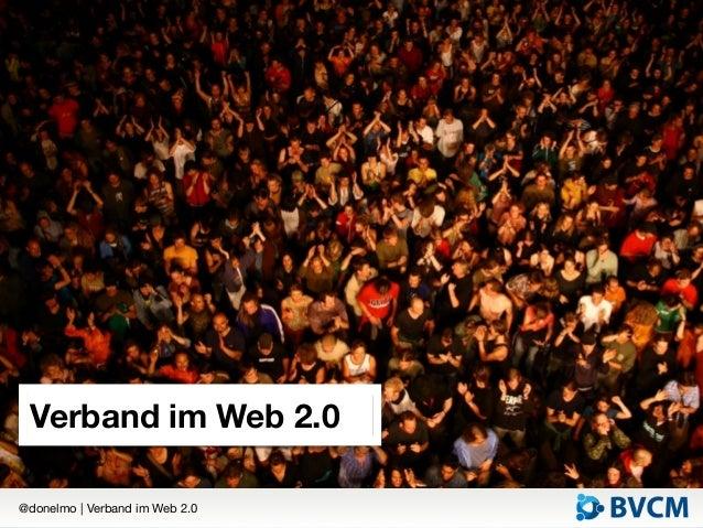 Verband im Web 2.0@donelmo   Verband im Web 2.0