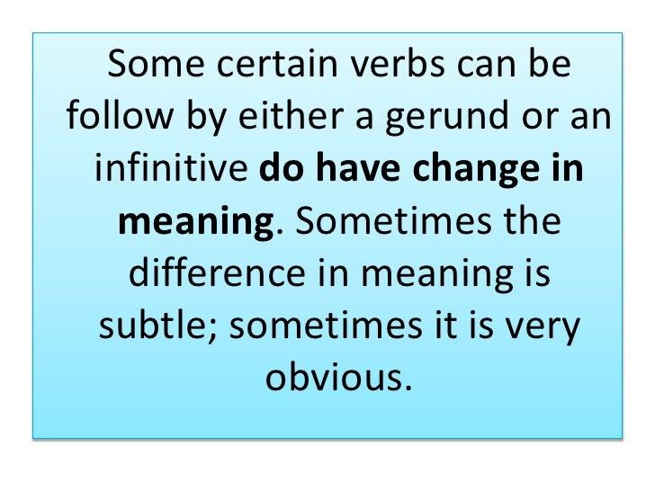 verb gerund or infinitive