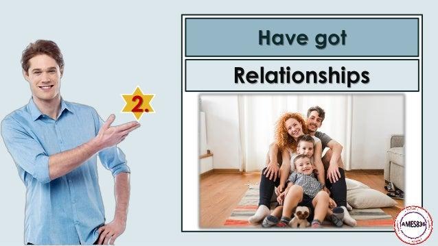 2. Have got Relationships