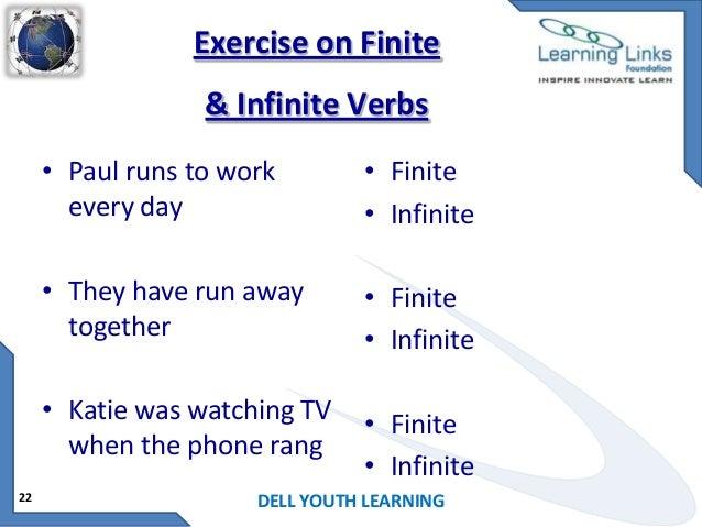 Finite and non-finite verbs - English Grammar Today ...