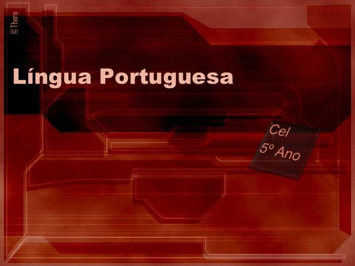 © Thera  Língua Portuguesa