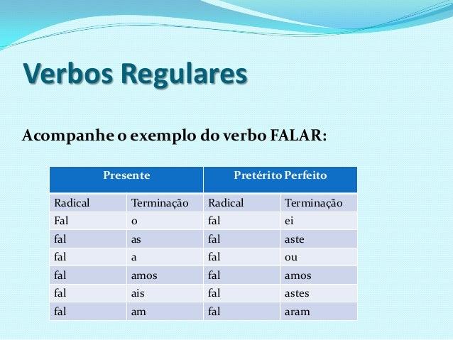 Verbos classificacao Slide 3