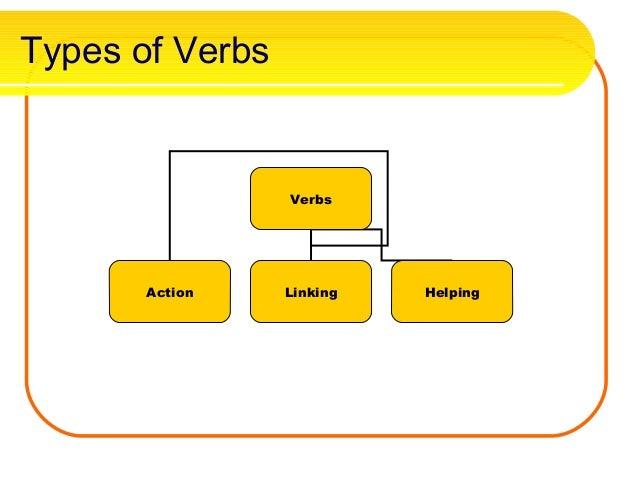 verb categories