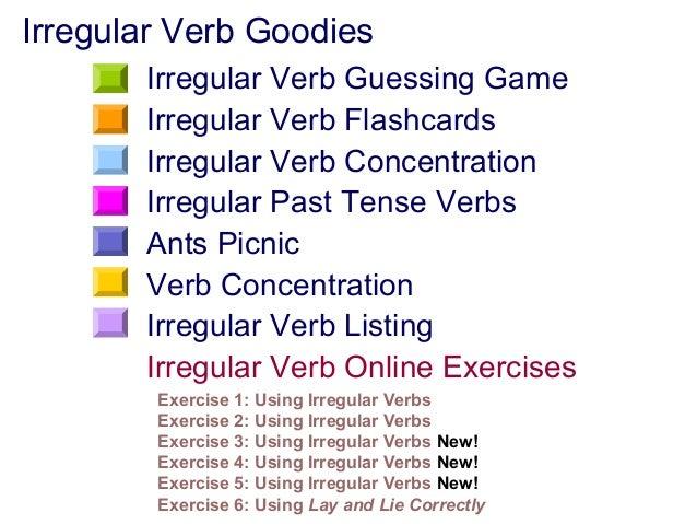 Verbs irregular – Past Tense Verbs Worksheet