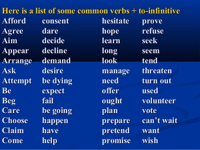 How to learn gerunds and infinitives