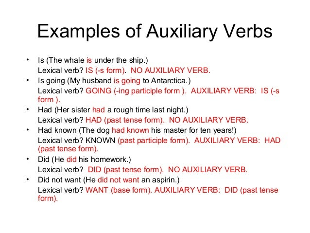 When do we usually use auxiliary verbs ppt video online download.
