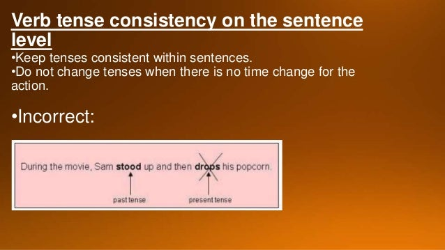 verb tense consistency in essays Quizzes subject english grammar verb verb tense verb tense consistency verb tense consistency 10 present, or future) and use it consistently throughout a paragraph or essay use occasional shifts to other tenses to indicate changes in time frame reveal.