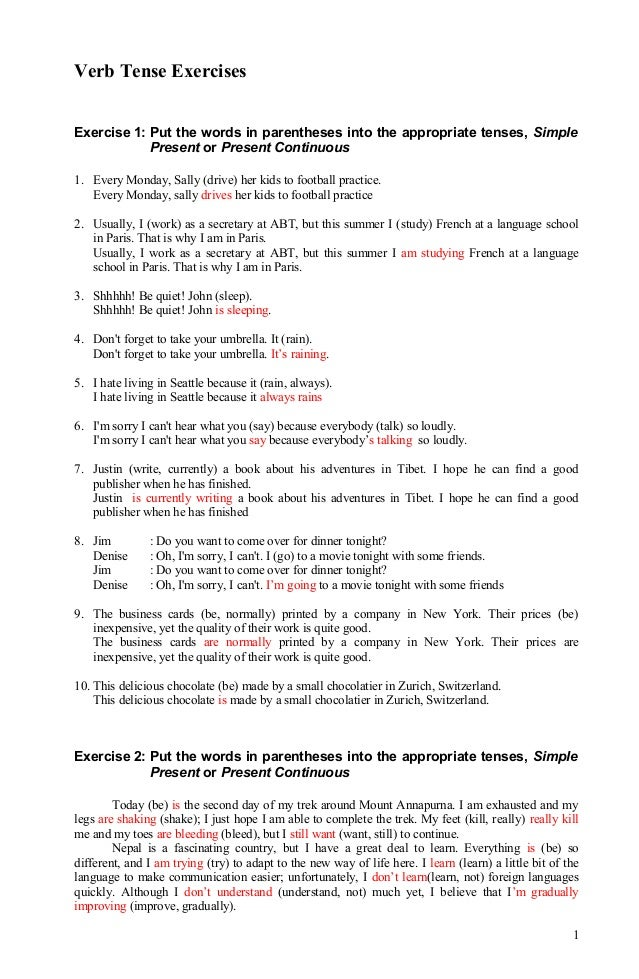 Printables Grammar Worksheets With Answers english grammar mixed tenses exercises with answers free future tense forms exercises