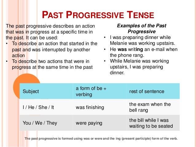 past progressive form - Hunt.hankk.co
