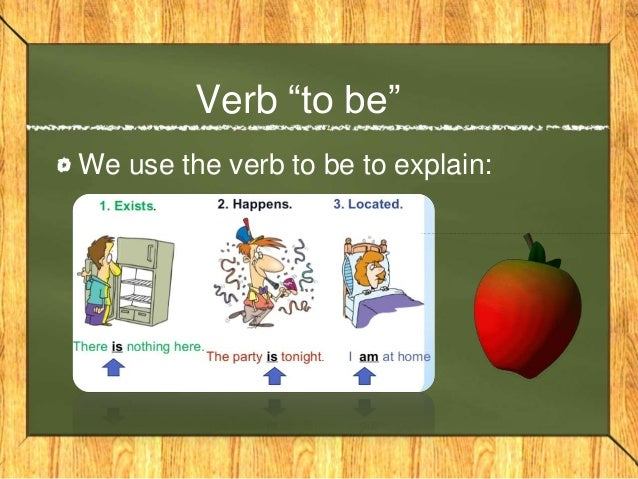 teaching the verb to be