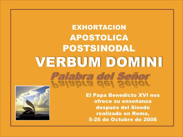VERBUM DOMINI EBOOK DOWNLOAD