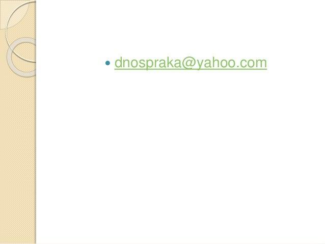  dnospraka@yahoo.com