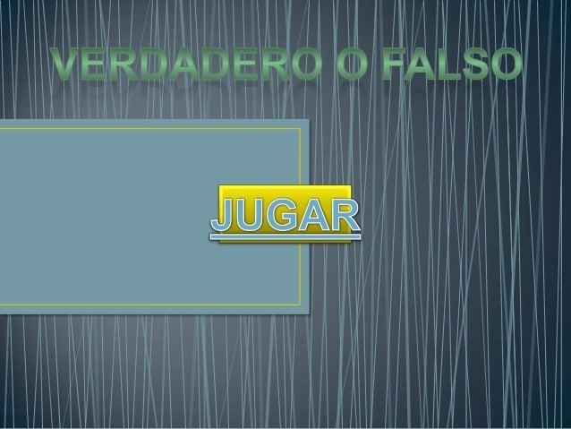 PREGUNTAS TECNOLOGIA VERDADERO O FALSO