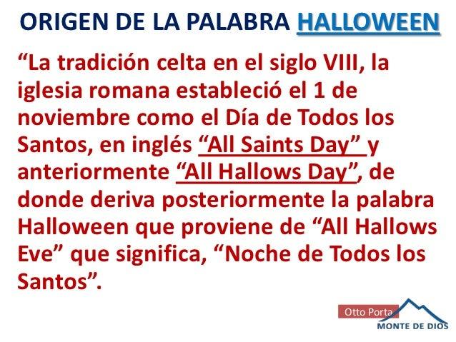 Verdadero Significado de Halloween