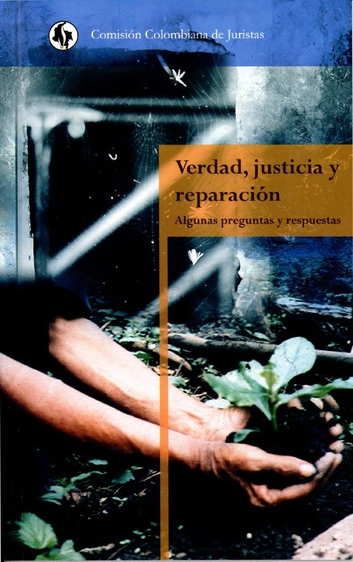 ristas                            Ver I, justicia y                                     ,                            repar...
