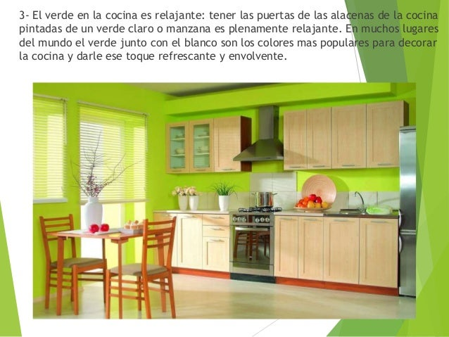Teoría del Color Verde