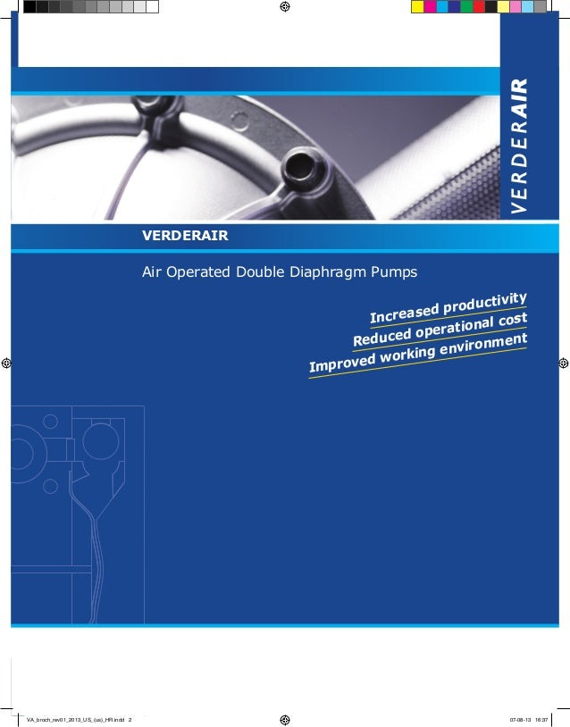 Verderair double diaphragm pumps verderair air operated double diaphragm pumps this brochures contains a technical story tivity produc ed increas ccuart Images
