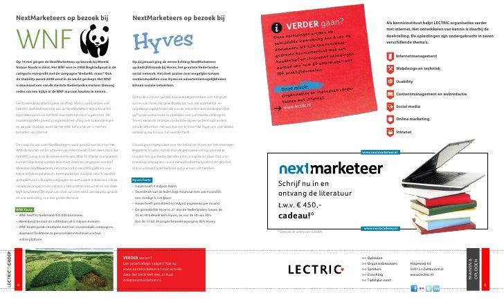 'Verder!' Magazine LECTRIC Groep