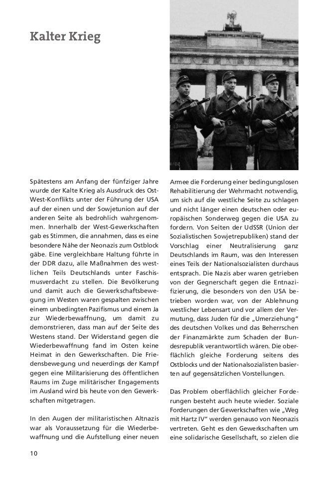 11Neonazis hingegen auf eine Entsolidarisie-rung. Nur der ethnisch deutschen Bevölke-rung sollen die Errungenschaften desW...