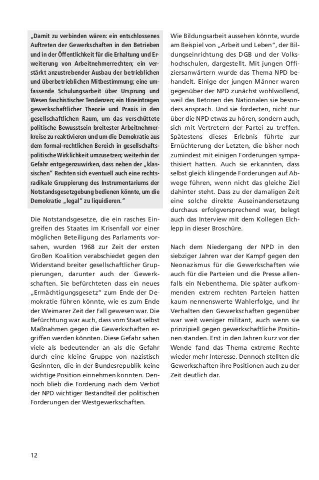 13Die Lagenach der WendeDie Vereinigung der beiden deutschen Teil-staaten brachte eine nationalistische Wellemit sich und ...